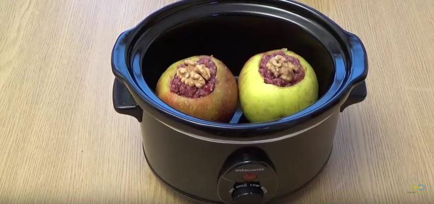 Bratapfel aus dem Slowcooker