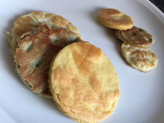 Ketogenes Frühstück - Keto bei Krebs - Pancakes