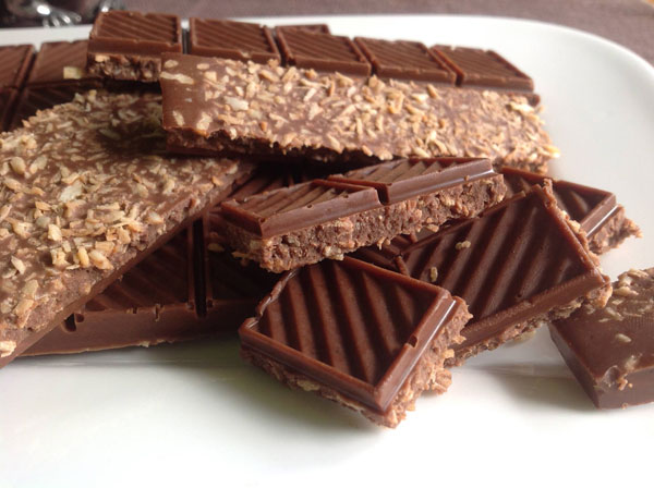 LowCarb Schokolade selbst machen