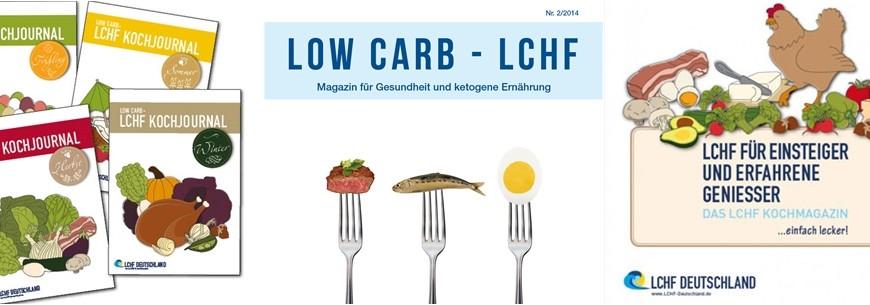 LCHF Deutschland – Magazine und Kochjournale