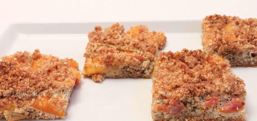 Rezept Marillen Streusel Kuchen Lowcarb Glutenfrei Lowcarb Ketogen De