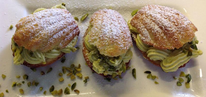 Rezept Mandel-Madeleines mit Pistaziensahne lowcarb glutenfrei